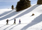 Winter events at Valles Caldera National Preserve